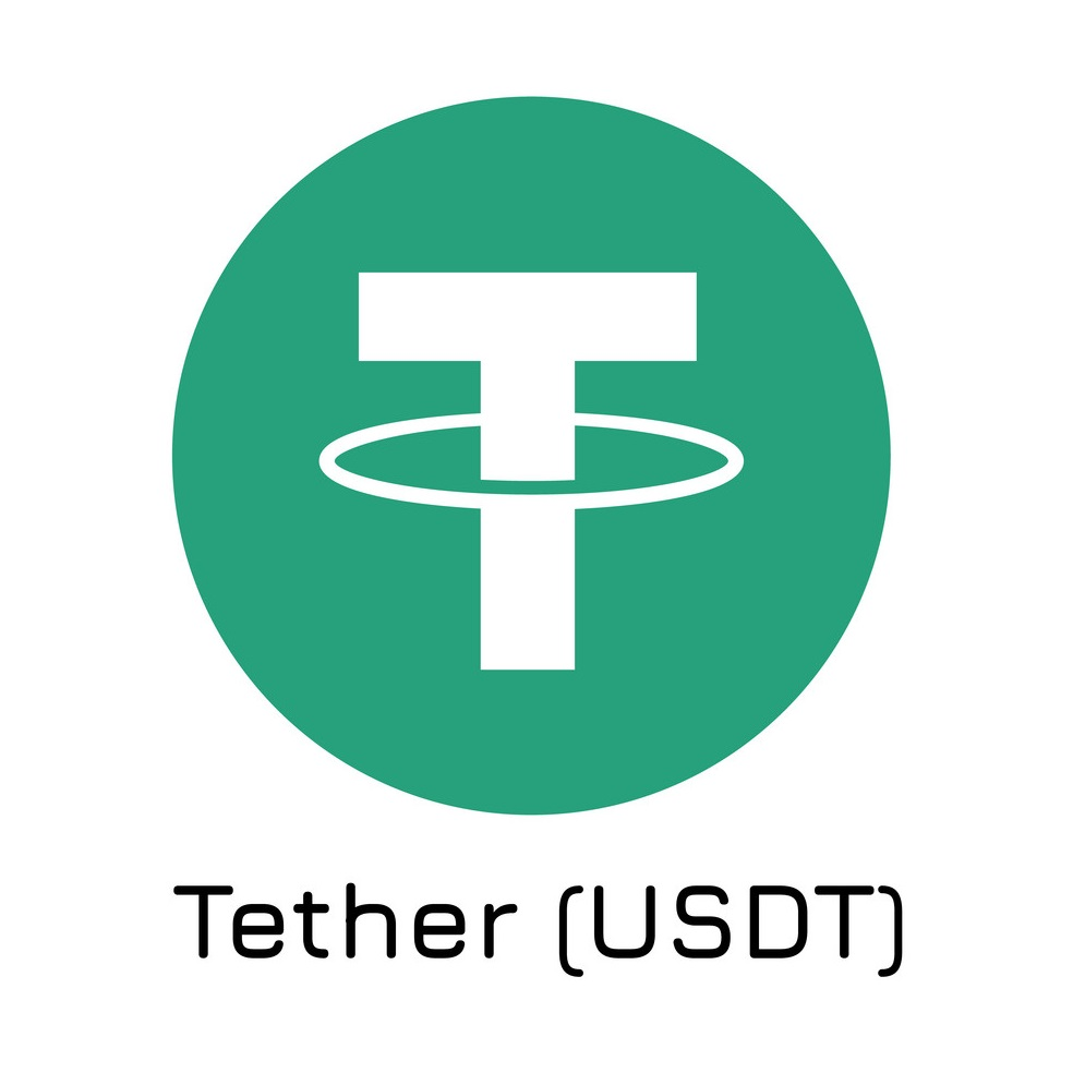 Tether (usdt). Vector Illustration Crypto Coin Ic